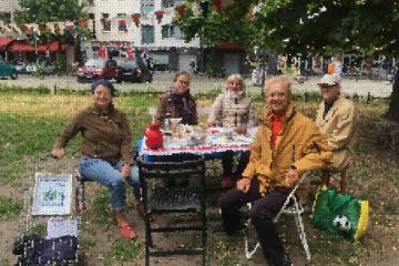 1.-Kiezbrunch, Juni 2021 (Mosaik)